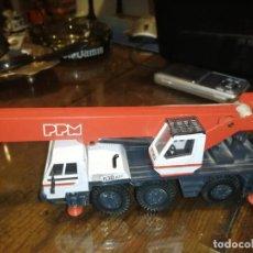 Brinquedos antigos Joal: CAMIÓN GRÚA PPM 530 ATT TEREX - JOAL 148. Lote 204740490