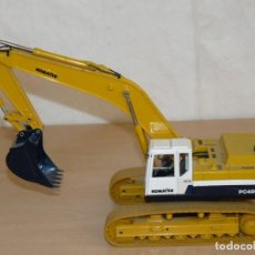 Juguetes antiguos Joal: JOAL MADE IN SPAIN TRACTOR EXCAVADORA KOMATSU PC400LC CON ORUGAS Y PALA FRONTAL 1:32 SCALE PC 400 LC. Lote 207653862