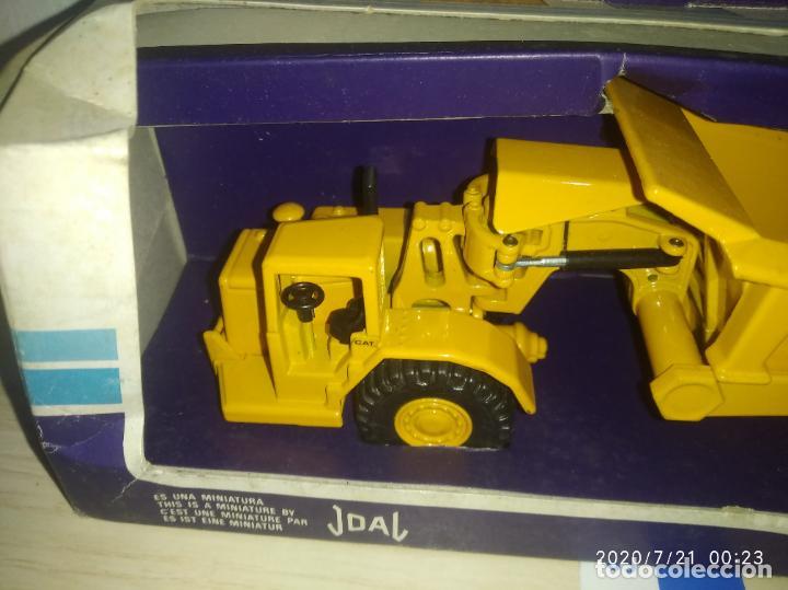 Juguetes antiguos Joal: TRACTOR CAT 631 CON VOLQUETE Caterpillar Años 70/80 nuevo en su caja made in Spain - Foto 3 - 212818665