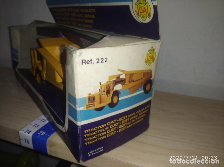 Juguetes antiguos Joal: TRACTOR CAT 631 CON VOLQUETE Caterpillar Años 70/80 nuevo en su caja made in Spain - Foto 6 - 212818665