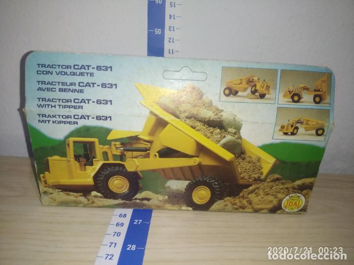 Juguetes antiguos Joal: TRACTOR CAT 631 CON VOLQUETE Caterpillar Años 70/80 nuevo en su caja made in Spain - Foto 7 - 212818665