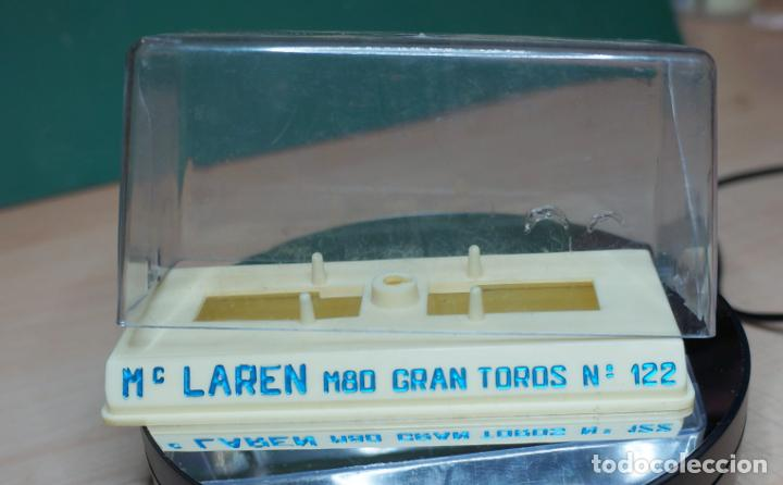 Juguetes antiguos Joal: ESPECTACULAR COCHE MC LAREN M80 GRAN TOROS MINIATURAS JOAL ESCALA 1/43 - Foto 10 - 219023742