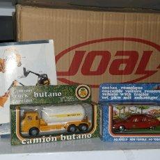Brinquedos antigos Joal: CITROEN CX PALAS CON MOTOS MONTESA, JOAL MAS PEGASO BARAJAS CISTERNA BUTANO 1: 50 MAS CATLOGO 2000. Lote 272991758