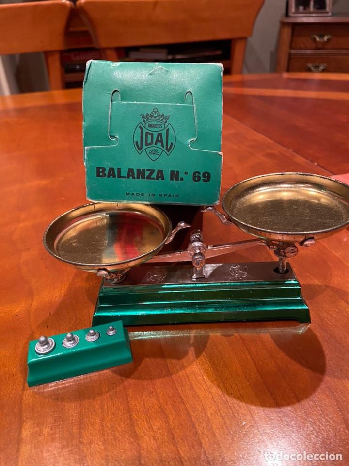 Juguetes antiguos Joal: BALANZA REF 69 - Foto 5 - 229079735
