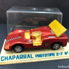 Juguetes antiguos Joal: COCHE CON CAJA CHAPARAL PROTOTIPO 2-F Nº 113 FABRICADO POR JOAL. Lote 231141020