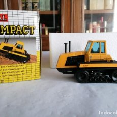 Juguetes antiguos Joal: JOAL COMPACT 1/50 233 TRACTOR CAT CHALLENGER 65 CATERPILLAR NUEVO OVP. Lote 235222295