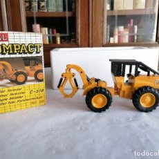 Juguetes antiguos Joal: JOAL COMPACT 1/43 226 TRACTOR FORESTAL C-518 NUEVO OVP. Lote 235222895