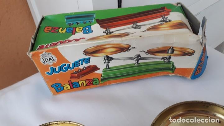 Juguetes antiguos Joal: BALANZA JOAL AÑOS 70 EN SU CAJA - Foto 3 - 240953940