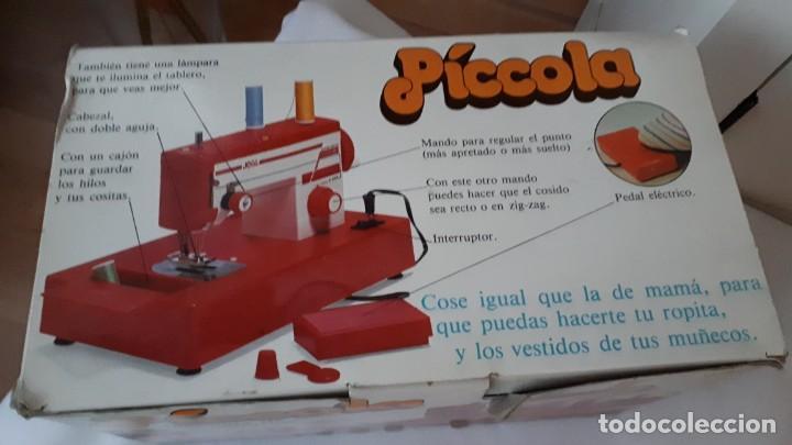 Juguetes antiguos Joal: ANTIGUA MAQUINA DE COSER PÍCCOLA JUGUETES JOAL FUNCIONANDO - Foto 6 - 247235115
