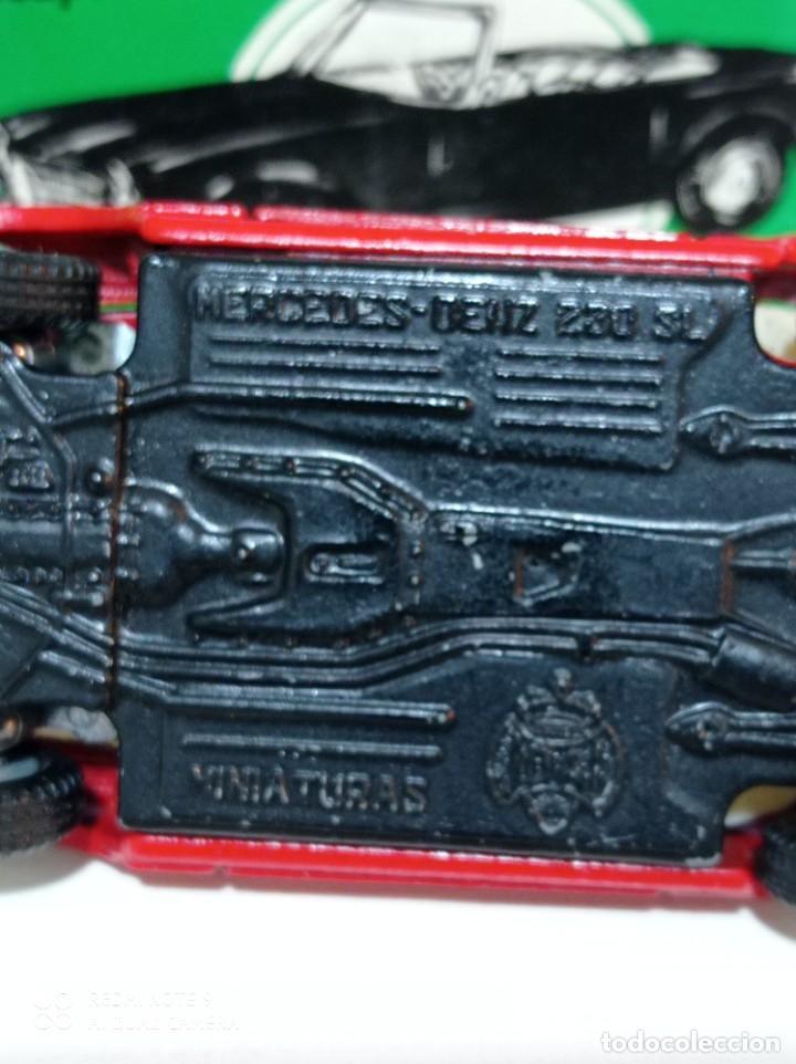 Juguetes antiguos Joal: Coche miniatura escala 1:43, Mercedes 230 SL rojo - Foto 4 - 248832390