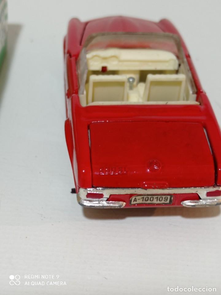 Juguetes antiguos Joal: Coche miniatura escala 1:43, Mercedes 230 SL rojo - Foto 7 - 248832390