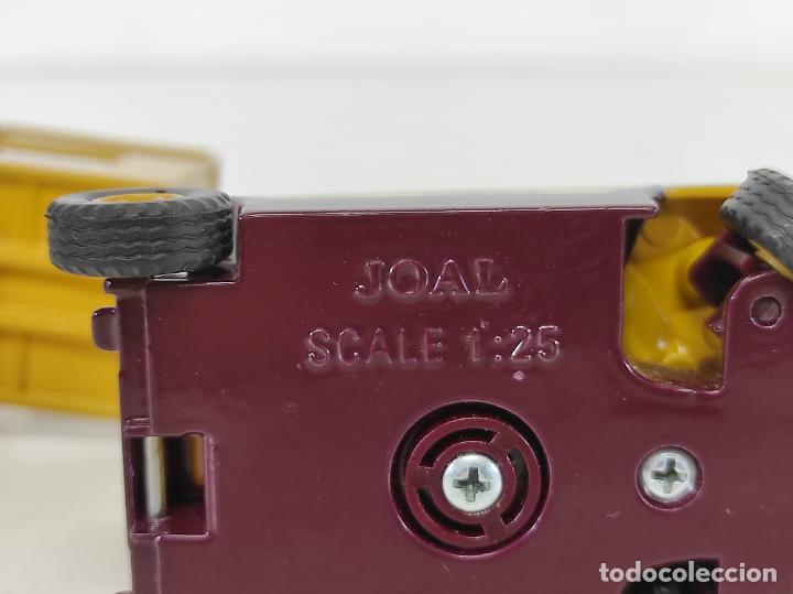 Juguetes antiguos Joal: Maquina Elevadora Grove Manlift Toucan - Marca Joal - Escala 1:25 - Foto 14 - 265964958