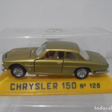 Juguetes antiguos Joal: COCHE A ESCALA, CHRYSLER 150 Nº128, URNA, MADE IN SPAIN. Lote 275667408