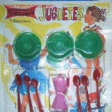 Juguetes antiguos y Juegos de colección: SET MINIATURAS JUEGO DE CAFE AÑOS 60. Lote 21756510