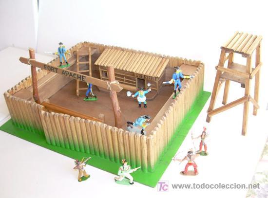 Fuerte de indios y vaqueros del oeste de mader comprar - Pegamento fuerte para madera ...