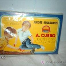 Juguetes antiguos y Juegos de colección: JUEGO EDUCATIVO A.CURRO. Lote 22710744