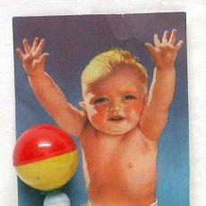 Juguetes antiguos y Juegos de colección: SONAJERO INFANTIL BEBE TA-TAY AÑOS 50. Lote 47484588