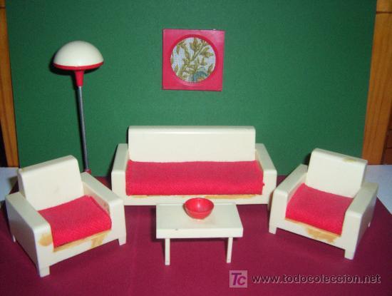 Muebles de salon para casas de mu ecas a os 60 comprar - Muebles anos 60 ...