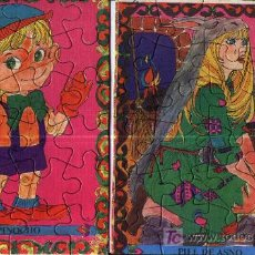 Juguetes antiguos y Juegos de colección: ROMPECABEZAS INFANTILES. Lote 4203053