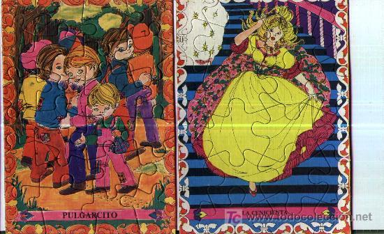 Juguetes antiguos y Juegos de colección: ROMPECABEZAS INFANTILES - Foto 2 - 4203053