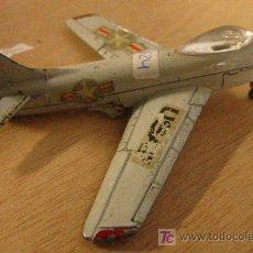 Juguetes antiguos y Juegos de colección: AVIÓN USAF? MIDE 10X3X11 CMS. Lote 4285606