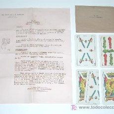 Juguetes antiguos y Juegos de colección: EL REY DE LA MAGIA Nº 26: CARTAS SOMBRERO. PRESTIDIGITACIÓN ILUSIONISMO BARCELONA AÑOS 40-50.. Lote 19747321