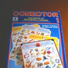 Juguetes antiguos y Juegos de colección: CONECTOR 1. Lote 25504147