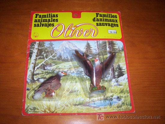 Familia De Animales Salvajes Juguetes Oliver Comprar En