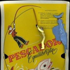 Juguetes antiguos y Juegos de colección: PESCADOR EQUILIBRISTA. Lote 151407638