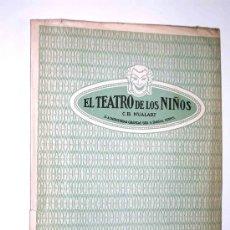 Juguetes antiguos y Juegos de colección: SANCHO PANZA GOBERNADOR. EL TEATRO DE LOS NIÑOS TEATRIN SEIX & BARRAL, BARCELONA AÑOS 30. EXCELENTE.. Lote 26528502