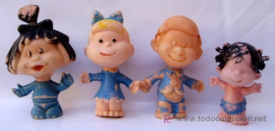 muñecos de plastico de la familia telerin años comprar en