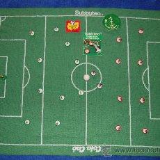 Juguetes antiguos y Juegos de colección: FUTBOL SUBBUTEO - BRASIL - ESPAÑA ¡COLACAO! ¡ORIGINAL AÑO 1981!. Lote 26060373