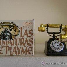 Juguetes antiguos y Juegos de colección: SACAPUNTAS PLAYME TELEFONO.REF.959.PINTADO Y EN SU CAJA. Lote 184919105