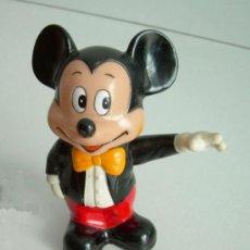 Juguetes antiguos y Juegos de colección: MICKEY MOUSE DE WALT DISNEY, PLÁSTICO DURO. Lote 27401969