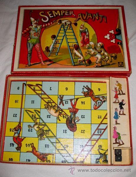 Juguetes antiguos y Juegos de colección: ANTIGUO Y MAGNIFICO JUEGO DE CIRCO ITALIANO - SEMPER AVANTI - EN - FIGURAS DE LATA E - Foto 3 - 24275610