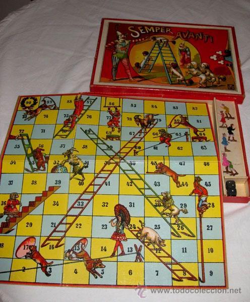 Juguetes antiguos y Juegos de colección: ANTIGUO Y MAGNIFICO JUEGO DE CIRCO ITALIANO - SEMPER AVANTI - EN - FIGURAS DE LATA E - Foto 4 - 24275610