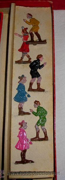 Juguetes antiguos y Juegos de colección: ANTIGUO Y MAGNIFICO JUEGO DE CIRCO ITALIANO - SEMPER AVANTI - EN - FIGURAS DE LATA E - Foto 5 - 24275610