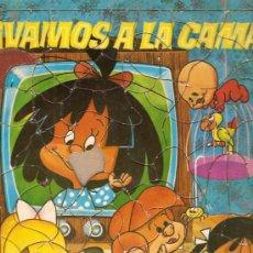 Juguetes antiguos y Juegos de colección: PUZZLE FAMILIA TELERIN VAMOS A LA CAMA FALTA UNA PIEZA. Lote 11975651