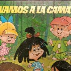 Juguetes antiguos y Juegos de colección: PUZZLE FAMILIA TELERIN VAMOS A LA CAMANº 2 FALTA UNA PIEZA. Lote 11975655