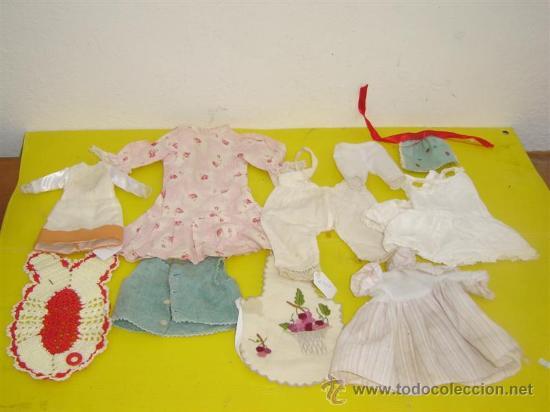 VESTIDOS DE MUÑECAS ANTIGUAS (Juguetes - Vestidos y Accesorios Muñeca Extranjera Antigua)