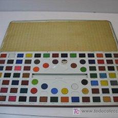 Juguetes antiguos y Juegos de colección: JUEGO DE ACUARELAS. Lote 26724959