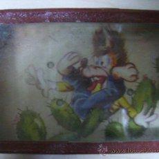 Juguetes antiguos y Juegos de colección: JUEGO DE BOLITAS - CON PUBLICIDAD DETRAS DE ALMENDRINA-LECHE VEGETAL-. Lote 18866121