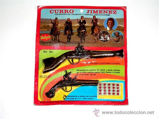 Resultat d'imatges de pistola de curro jiménez, juguete