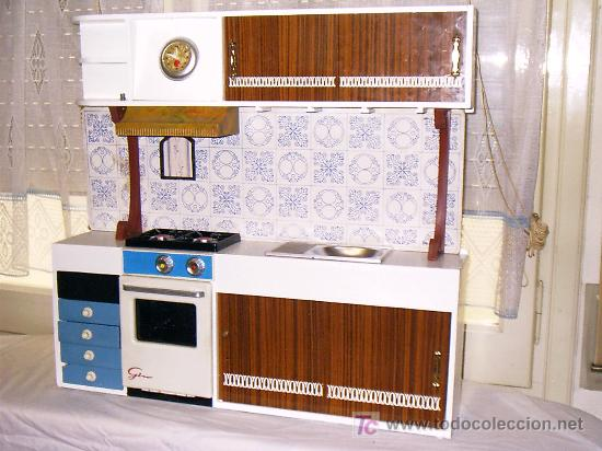 Cocina de juguete antigua de la decada de los 6 comprar for Juguetes de cocina