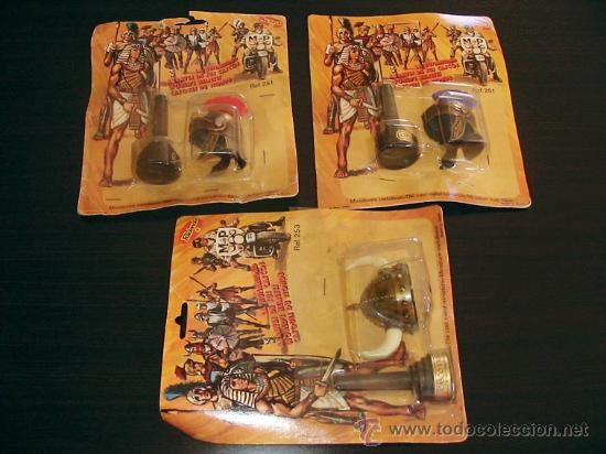 Juguetes antiguos y Juegos de colección: CASCOS METAL REDONDO VIKINGO CENTURION ROMANO Helmets viking roman - Foto 2 - 136373622
