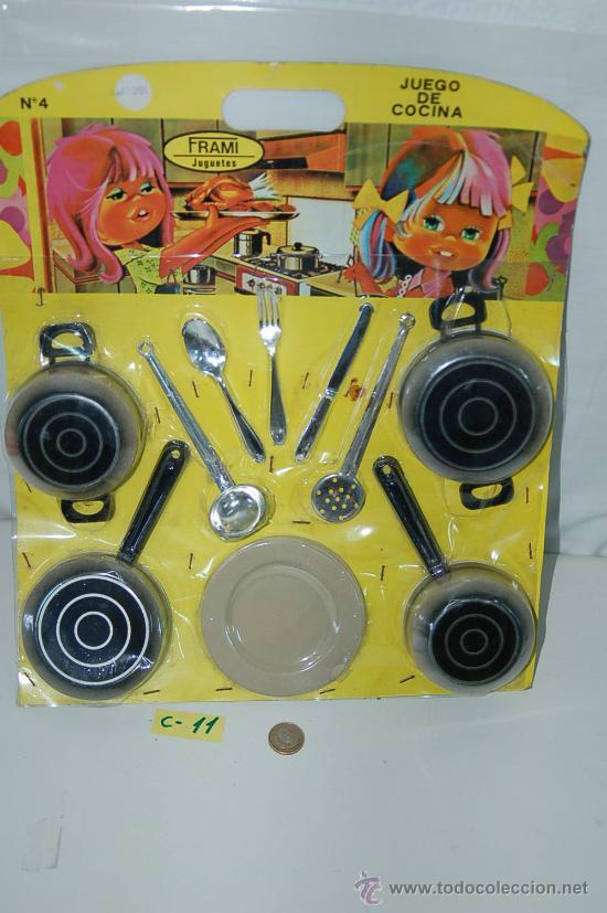 antiguo juego de cocina aos 6070 made in Comprar en
