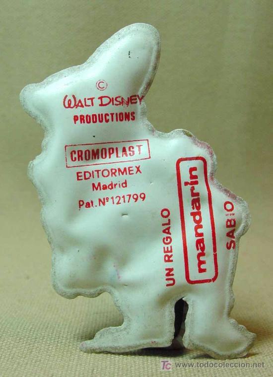 Juguetes antiguos y Juegos de colección: RARO, CROMOPLAST, ENANO BLANCANIEVES, SABIO, FLAN CHINO MANDARIN, 1960s, - Foto 2 - 15838279