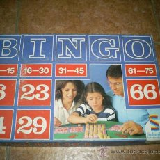 Juguetes antiguos y Juegos de colección: ANTIGUO BINGO ANTERIOR A LOS AÑOS 80 MARCA (ALEMANA). Lote 26559285