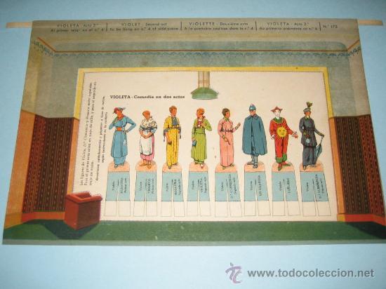 Juguetes antiguos y Juegos de colección: COMEDIA VIOLETA, TEATRO DE LOS NIÑOS, EDICIONES SEIX&BARRAL HERMANOS. - Foto 9 - 25775678