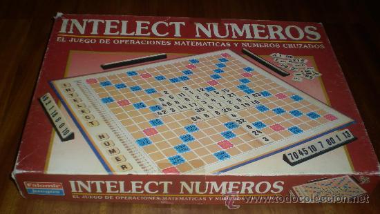 Juego De Mesa Intelect Numeros Falomir Juegos Comprar En